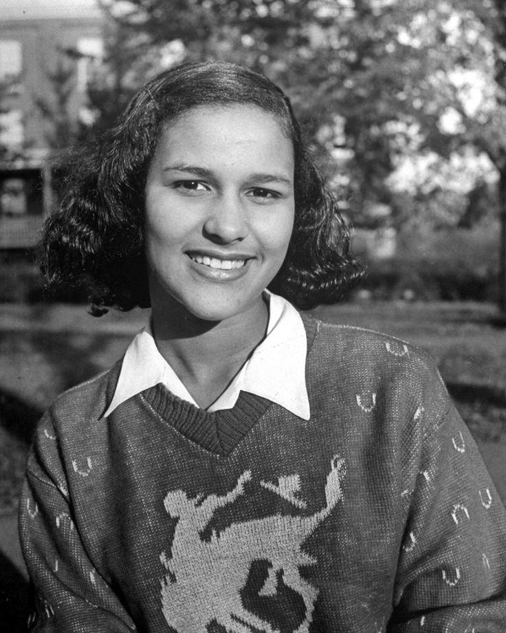 Vintage portraits at historically black Howard University, in 1946