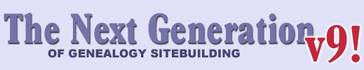 The Next Generation of Genealogy Sitebuilding- want to try this, really like the sites that have used it.