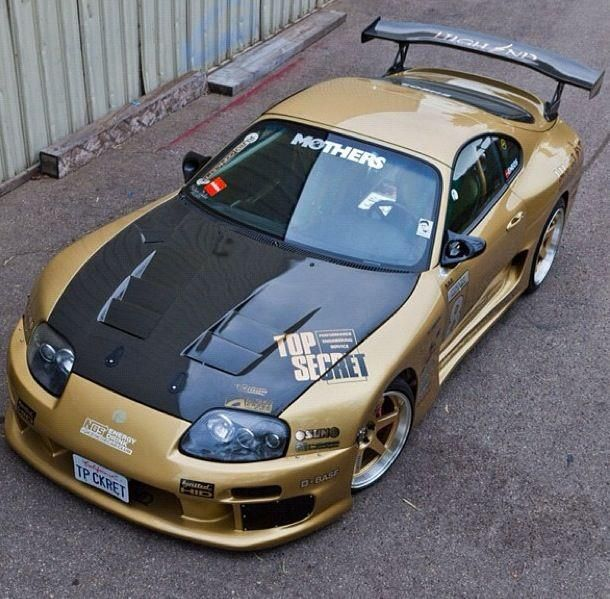 Toyota supra Top Secret 3000 widebody kit