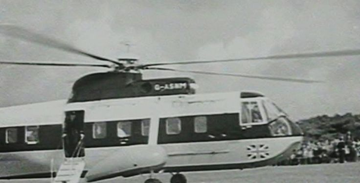 FIRST HELICOPTER FLIGHT FROM PENZANCE TO ISLES OF SCILLY (1 May 1964) |     ✫ღ⊰n