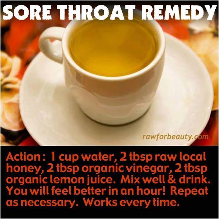 Natural Vegan Remedies For Sore Throat