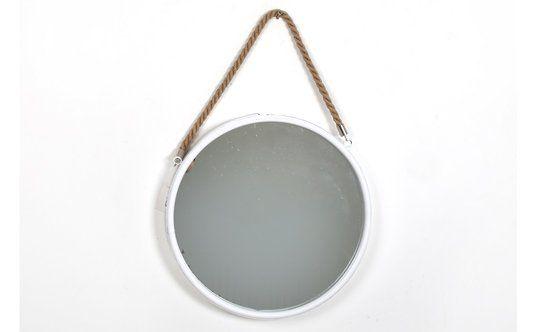 30 Specchio Tondo Con Corda D.35cm – Conforama
