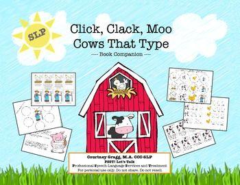 Click Clack Moo: Doreen Cronin Author Study