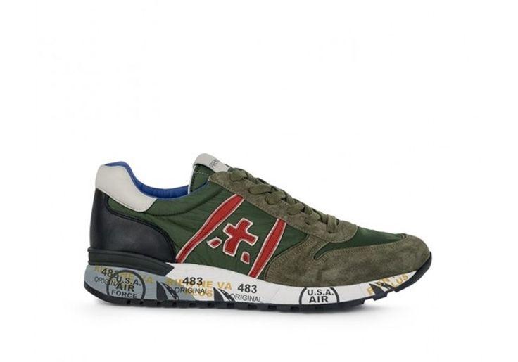 Sneaker Uomo Premiata Lucy ab1463e verde nylon spring summer original 45 45 45