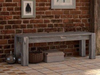 Rustikální lavice dřevěná Country 24