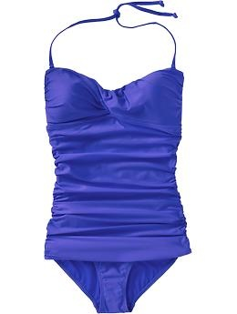 Women's Control Max Halter Swimsuits | Old Navy - This is my bathing suit! I just hope it fits all summer!