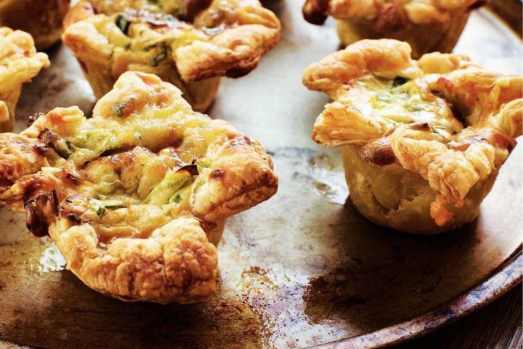 Kijk wat een lekker recept ik heb gevonden op Allerhande! Gorgonzola-preicupcakes