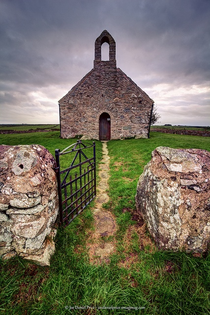 Church in Anglesey, Wales