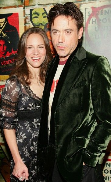 Robert Downing Jr. and his wife producer Susan Levin ...