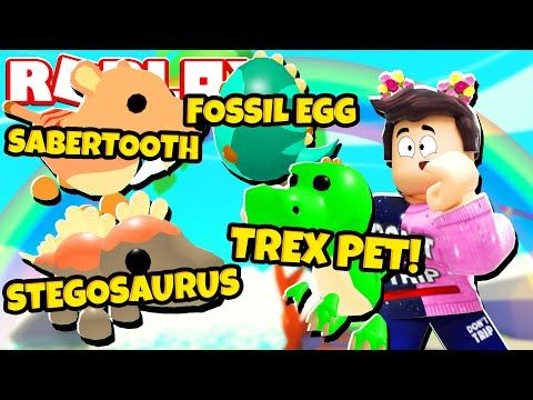 New Fossil Egg Update In Adopt Me New Adopt Me Dinosaur Pets Roblox Youtube In 2020 Dinosaur Stuffed Animal Adoption Pets