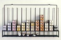 Color Tube Storage Rack-Holds 96 Tubes Total
