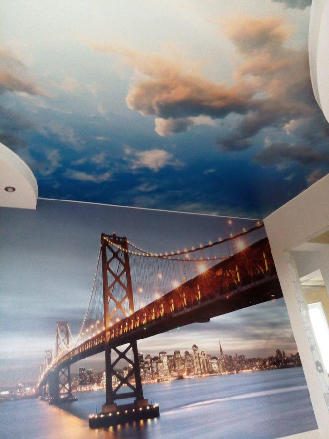 Натяжной потолок с фотопечатью - Натяжные потолки, заказать или купить в Минске