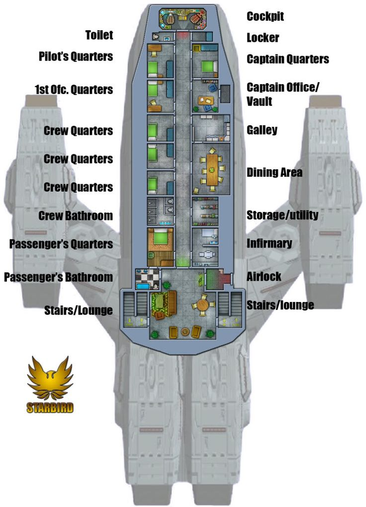 Firefly rpg page 27 armchair general and historynet for Deck plans online