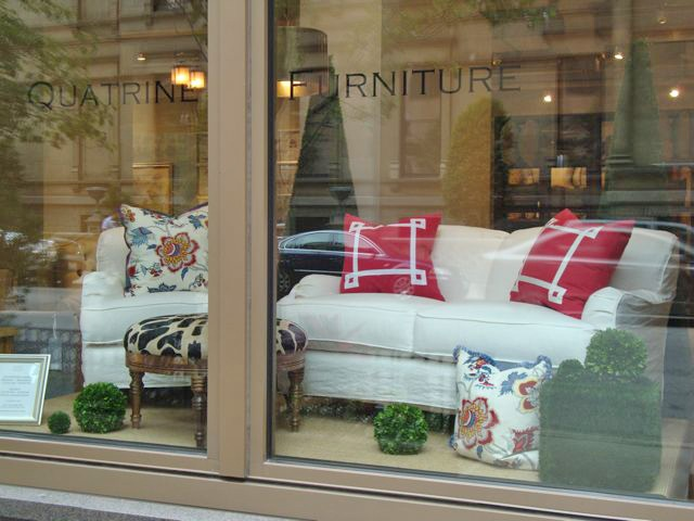 Quatrine Spring Window