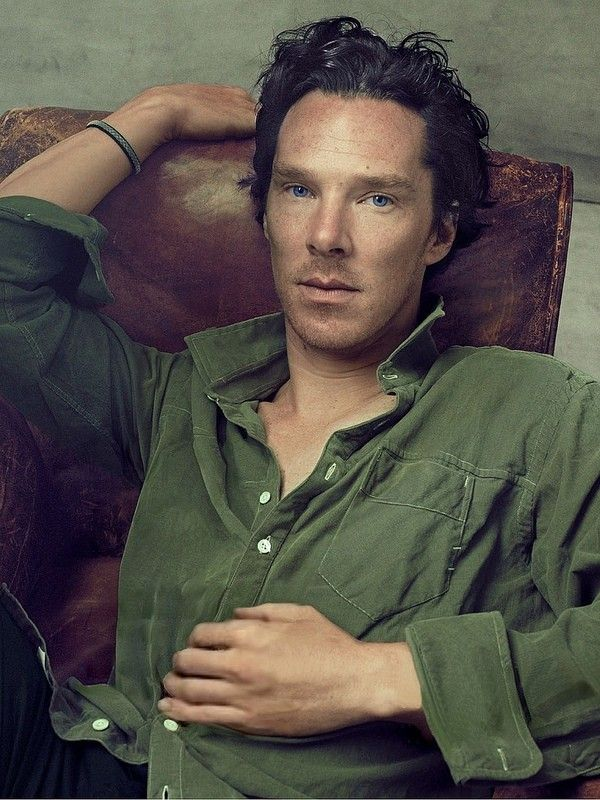 Benedict Cumberbatch By Annie Leibovitz - Okay, awesome pic yes yes yes BUT, look at this pic, and then look at others and then look at who took it.  Should have known just by looking it was her, I don't know what it is, but I swear the woman was blessed by something because her pictures ALWAYS make me stop and stare in awe (even before I see it was her).