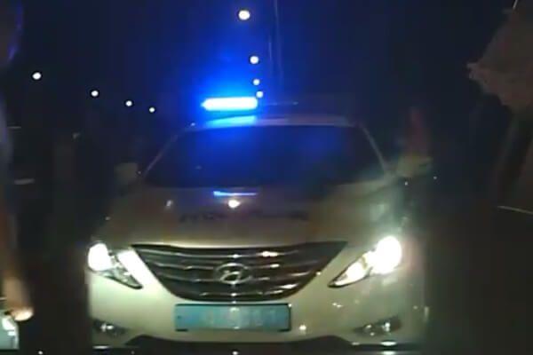 Похитили номерные знаки: На границе с Польшей напали на полицейских, - ВИДЕО