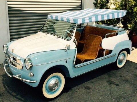 '60 Fiat 600 Jolly