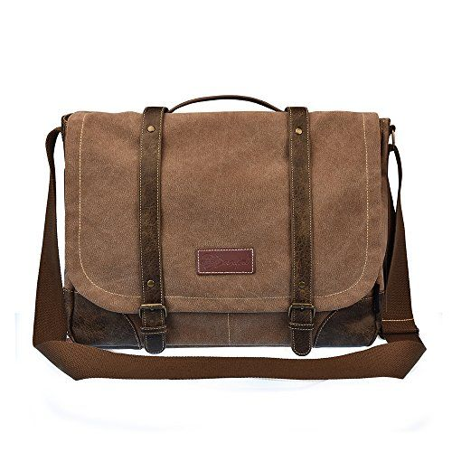 New Trending Briefcases amp; Laptop Bags: C-LEATHERS 15.6 Laptop Messenger Bag for Men and Women Leather Messenger Bag Briefcase Shoulder Sling Laptop Bag Brown 261. C-LEATHERS 15.6″ Laptop Messenger Bag for Men and Women Leather Messenger Bag Briefcase Shoulder Sling Laptop Bag Brown 261  Special Offer: $34.90  277 Reviews Product Features Brand Name : C-LEATHERS Bag Material : Highland cotton cnavas Color: Black ,Brown Gender : Men ,...