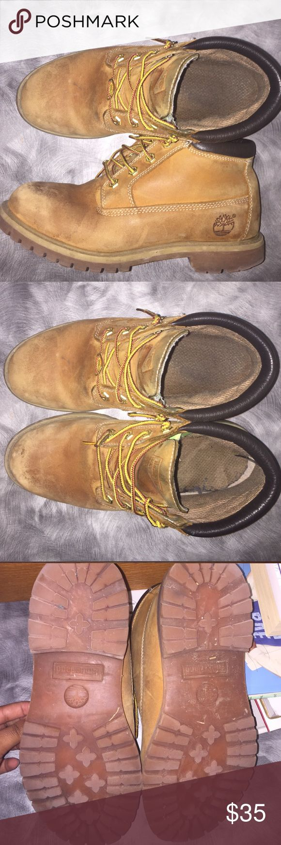 Timberland Nellie Women's In poor condition can be used as workboots Timberland Shoes Ankle Boots & Booties