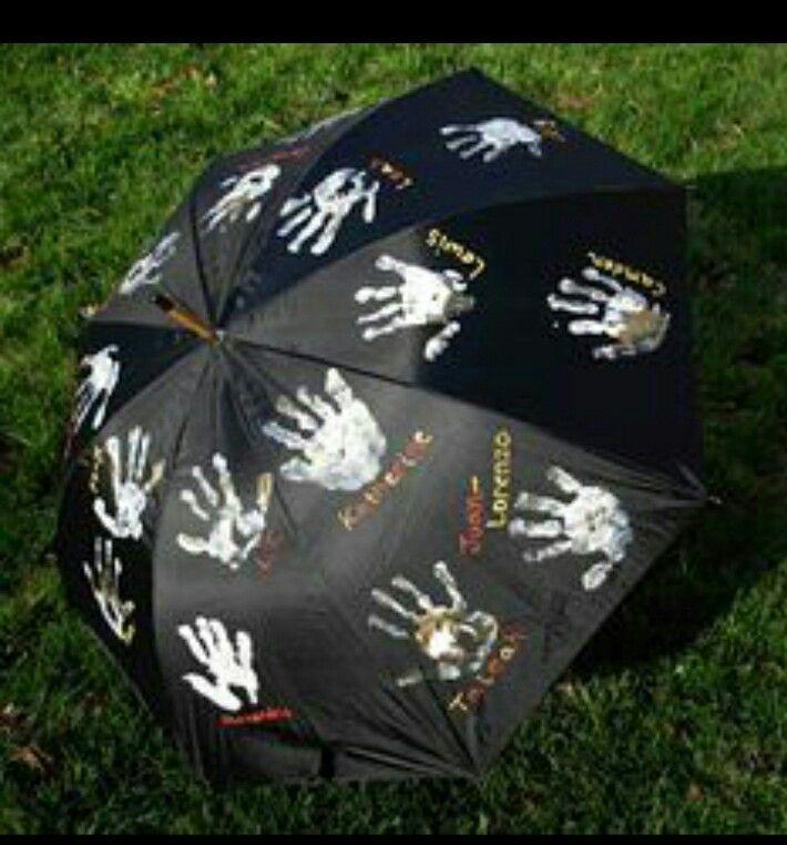 Handjes paraplu