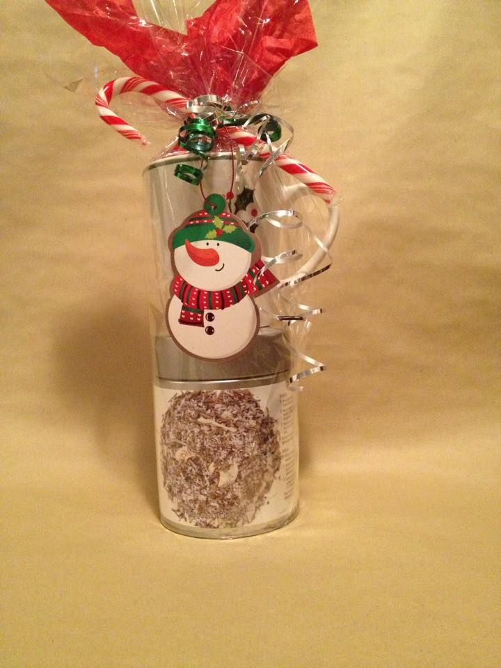 #Epicure Coco Vanilla White Tea with a Christmas Mug