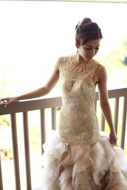 52 best wedding dresses images on Pinterest | Short wedding gowns ...