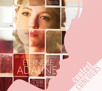 "<font size=""4""> Gagnez une paire de billets pour la grande première du film Éternelle Adaline ainsi qu'un certificat cadeau de 100$ chez 1861.ca </p> Bonne chance à toutes --♡-- Good luck everyone </p> Win a pair of tickets for the grand premiere of Age of Adaline and a $100 gift certificate at 1861.ca </font>"