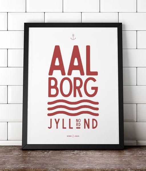 Aalborg (Special Edition) Denmark Danmark  poster plakat grafisk design graphic design danmark jylland