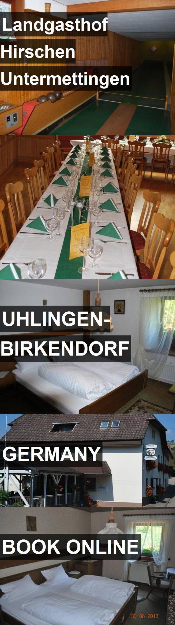 Hotel Landgasthof Hirschen Untermettingen in Uhlingen-Birkendorf, Germany. For more information, photos, reviews and best prices please follow the link. #Germany #Uhlingen-Birkendorf #travel #vacation #hotel