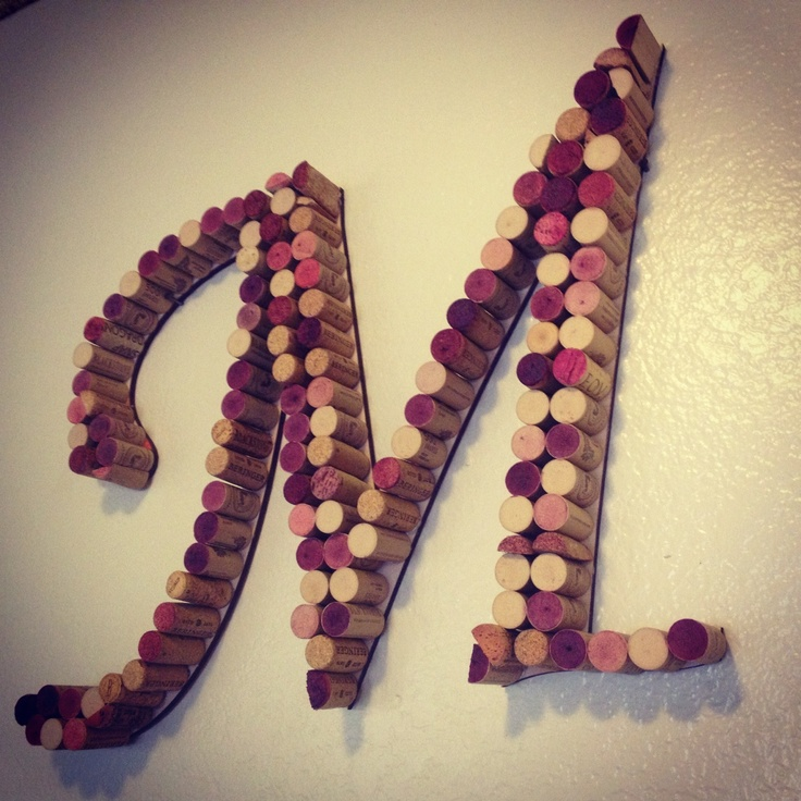 27 best cork letters cork decor images on pinterest for Wine cork crafts guide