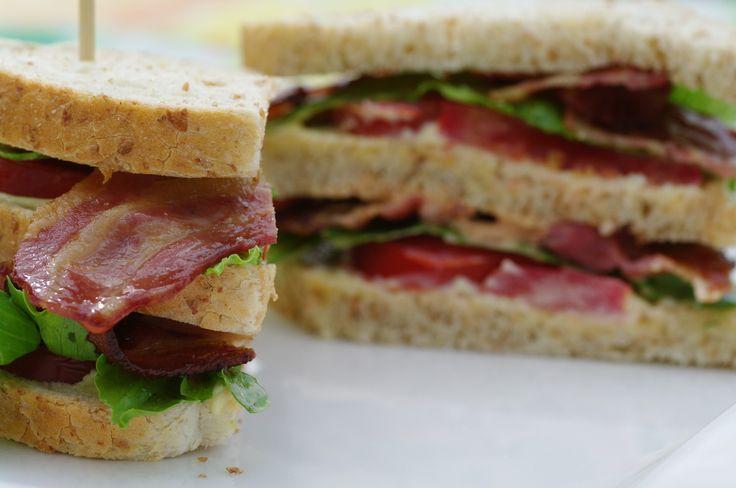 BLT sandwich enkel og god klassiker