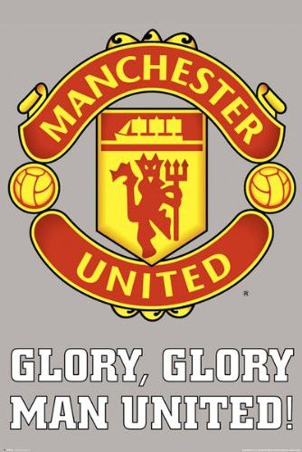 SPT36580 Manchester United Club Crest 24X36