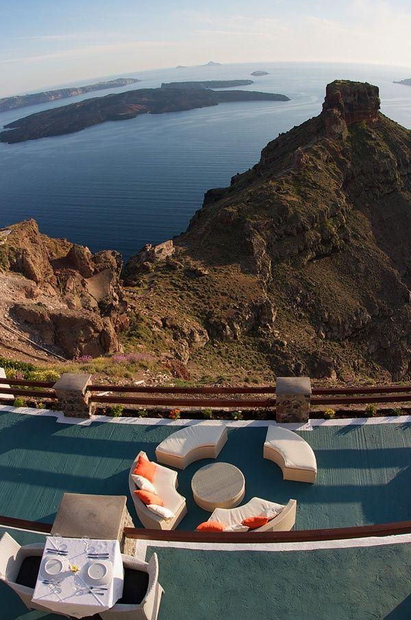 Imerovigli village, Santorini island, Greece. - Selected by www.oiamansion in Santorini.