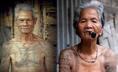 Frankky Marpaung: Mengenal Arti Tato Suku Dayak Kalimantan