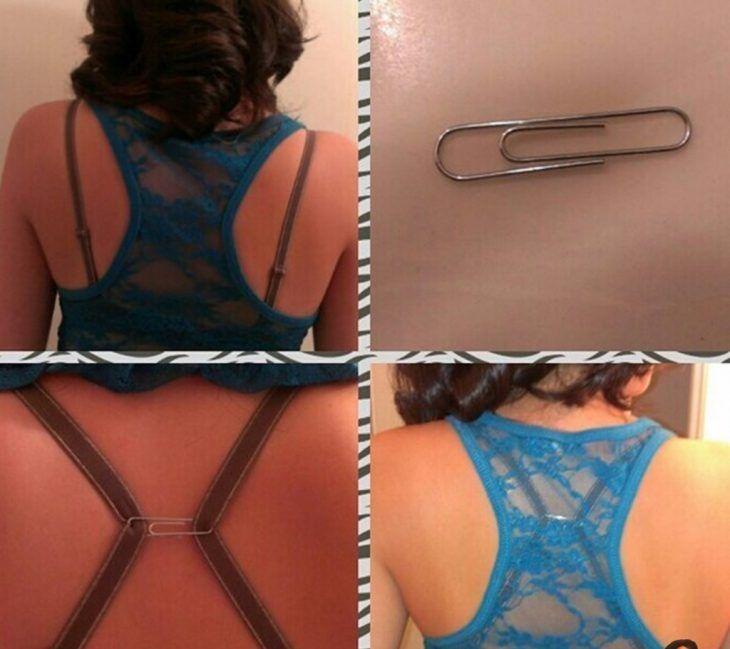 clip para esconder tirantes del brassiere
