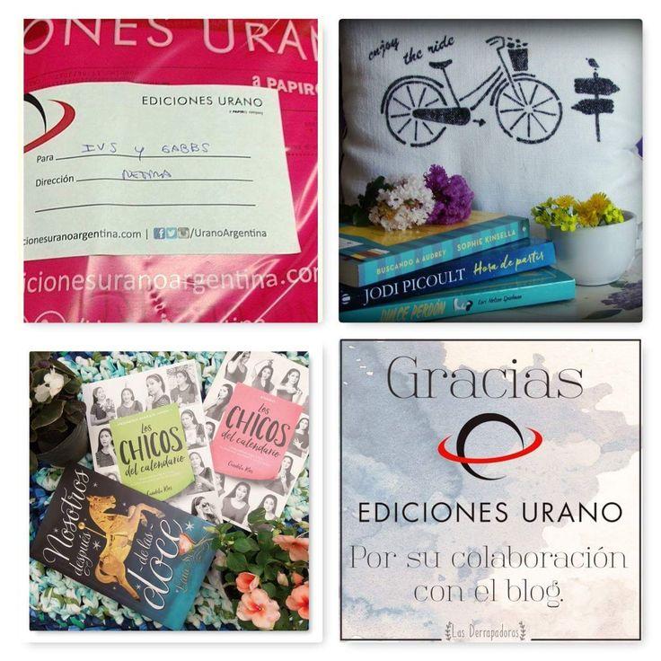 La bolsa de Ediciones Urano. Colaboración con el blog.