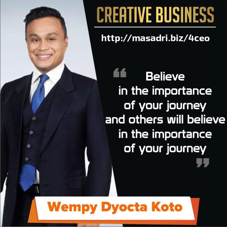 Believe in yourself! #motivasibisnis
