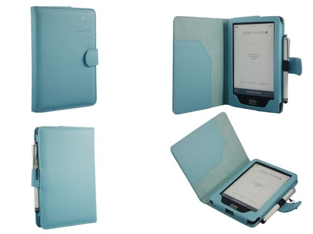 Bestseller Case voor de Kobo Glo eReader - Sky Blue