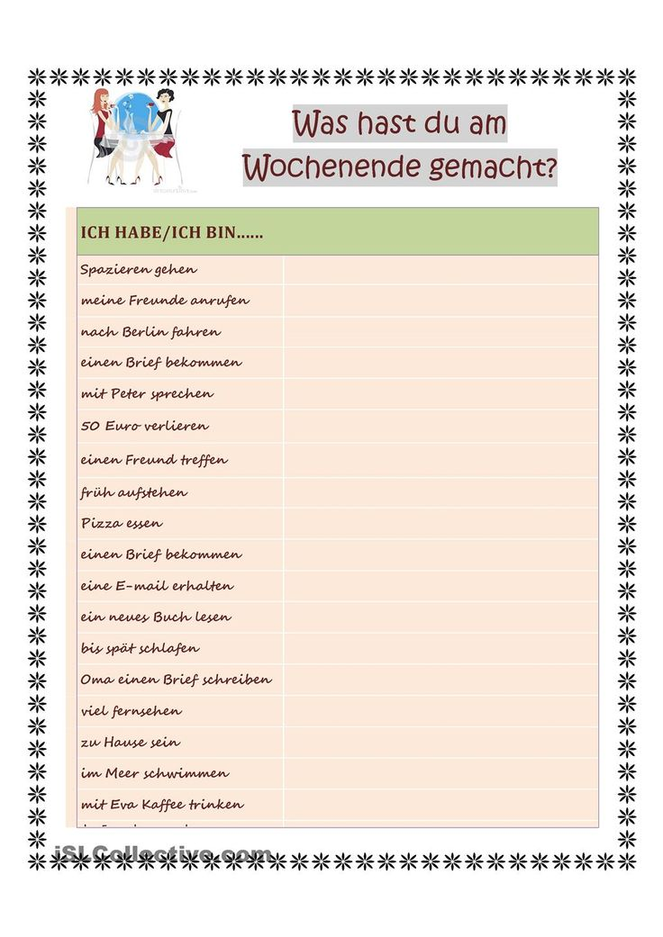 72 besten German PERFEKT Bilder auf Pinterest
