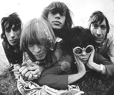 I've got the blues for you--the rolling stones.
