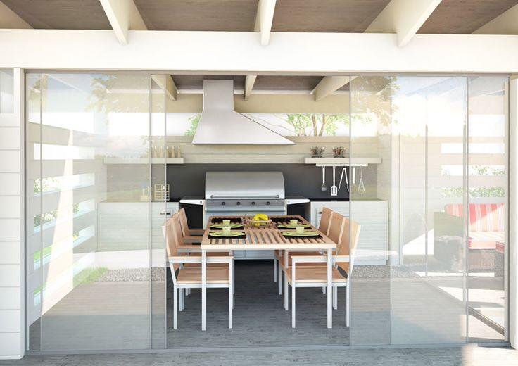 67 parasta kuvaa Kesäkeittiöt  outdoor kitchen Pinterestissä  Puutarhat,Ul