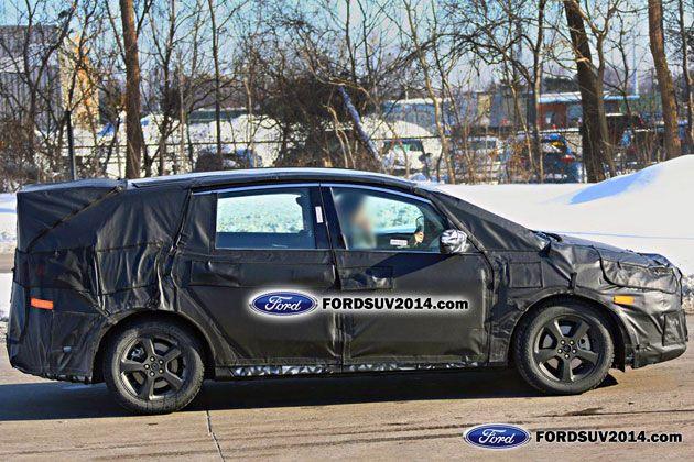 2015 Ford S Max spy shot profile