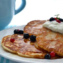 Pancake Recipe Without Eggs - new and improved recipe