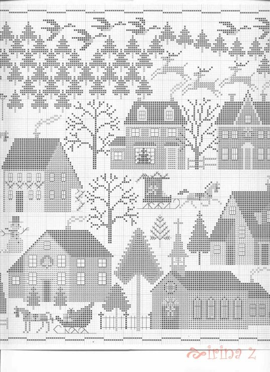Christmas Village • 4/5 Middle Chart