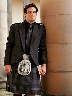 Highland Granite Kilt- you have to love a guy in a kilt!