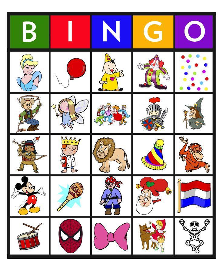 Feest: Bingo carnaval 11