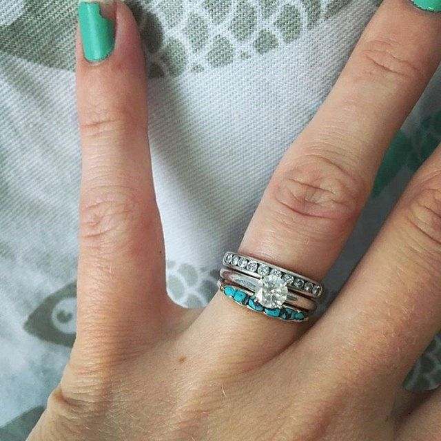 Natural Turquoise Ring Wrapped Raw Genuine Arizona Turquoise Etsy Turquoise Wedding Band Turquoise Wedding Rings Western Wedding Rings