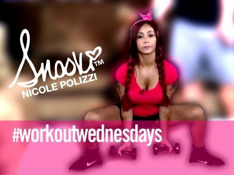 Total Body Pull - Workout Wednesday Home Edition w/ Snooki @jennacody