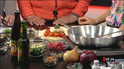 Indiskt med koriander och chili | SVT recept