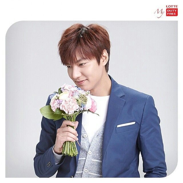 Lee Min Ho for Lotte Duty Free